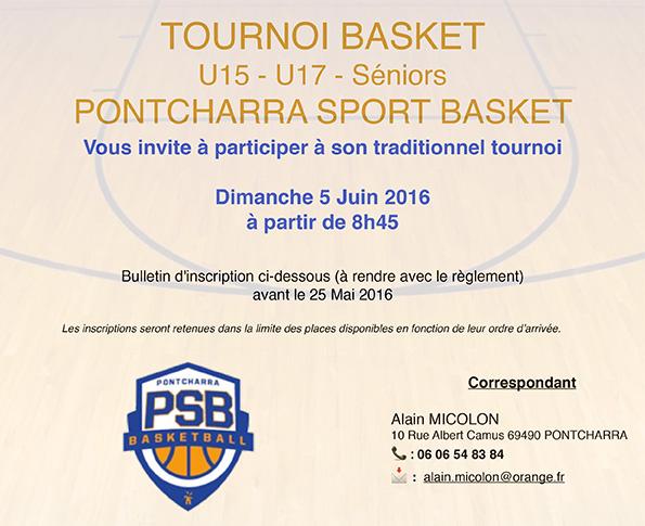 TOURNOI PSB 2016